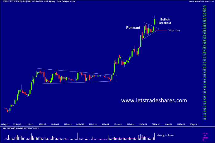 Chart 4. IProperty Group (IPP) Daily Chart March 5th